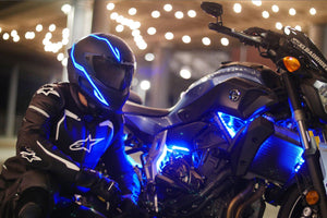 Helmet Cold Light EL Signal Flashing Stripe - Pattern B Life Hack Inventions