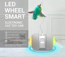 Load image into Gallery viewer, Wheel-Zee Dog and Cat Toy Automatic Running Wheel Life Hack Inventions