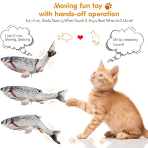 Happy Cat - Amazing Realistic Floppy Fish Plush Life Hack Inventions