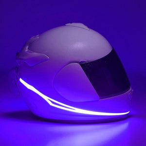 Helmet Cold Light EL Signal Flashing Stripe - Pattern E Life Hack Inventions