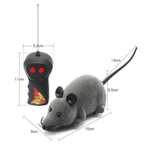 Remote Control Prank Mouse Mock Fake Rat Life Hack Inventions