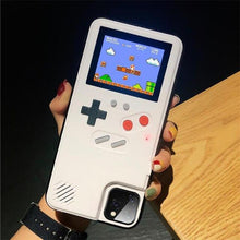 Load image into Gallery viewer, Gameboy Soft Phone Case Cover For iPhone Life Hack Inventions for iPhone 8 7 Plus White