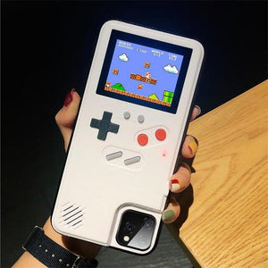 Gameboy Soft Phone Case Cover For iPhone Life Hack Inventions for iPhone 8 7 Plus White
