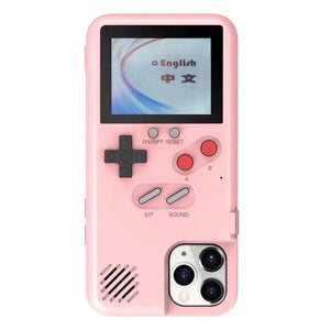 Gameboy Soft Phone Case Cover For iPhone Life Hack Inventions for iPhone 11Pro Pink
