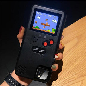 Gameboy Soft Phone Case Cover For iPhone Life Hack Inventions for iPhone 8 7 Black