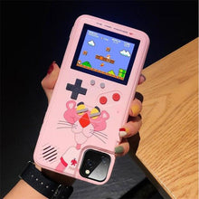 Load image into Gallery viewer, Gameboy Soft Phone Case Cover For iPhone Life Hack Inventions for iPhone 6SPlus Pink Leopard