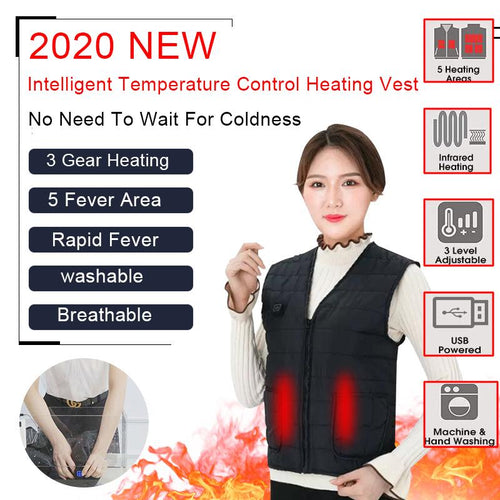 SHIELD™ Heated Vest Life Hack Inventions