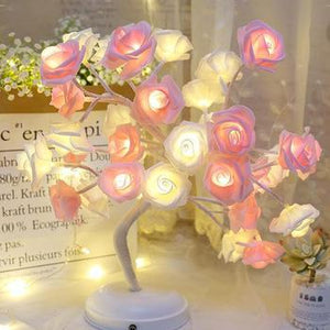 Christmas Desktop Rose Flower Lamp Life Hack Inventions