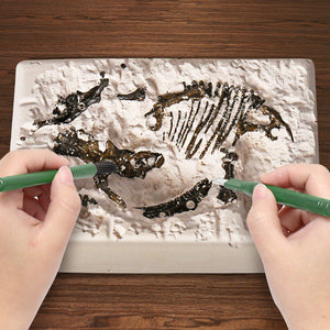 Jurassic Dinosaur Fossil excavation kits Education archeology Exquisite Toy Set Action Children Figure Education Gift BabyA9BC00 Life Hack Inventions