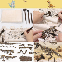 Load image into Gallery viewer, Jurassic Dinosaur Fossil excavation kits Education archeology Exquisite Toy Set Action Children Figure Education Gift BabyA9BC00 Life Hack Inventions