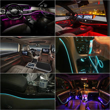 Load image into Gallery viewer, Interior Car Atmosphere Light Life Hack Inventions 6 meters