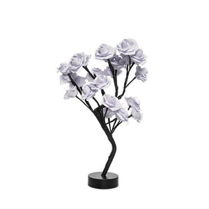Christmas Desktop Rose Flower Lamp Life Hack Inventions Purple