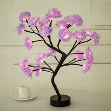 Load image into Gallery viewer, Christmas Desktop Rose Flower Lamp Life Hack Inventions Pink