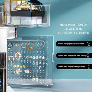 Beauty Queen Makeup Organizer with LED Light Life Hack Inventions