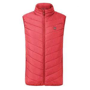 SHIELD™ Heated Vest Life Hack Inventions red S