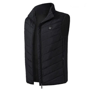 SHIELD™ Heated Vest Life Hack Inventions black S