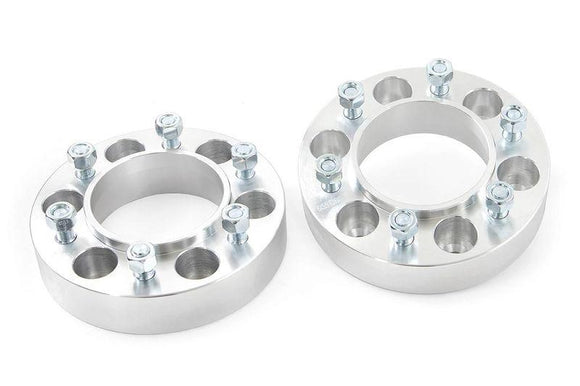 ROUGH COUNTRY 1.5-INCH TOYOTA WHEEL SPACERS | PAIR 2005-2018 TACOMA