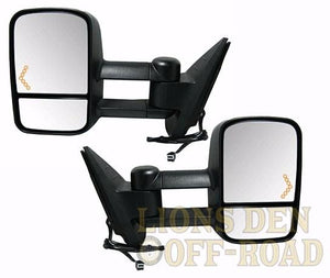 Chevy & GMC Tow Mirrors - Years 1988-2013