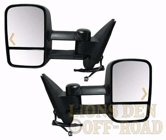 Chevy & GMC Tow Mirrors - 1999-2002