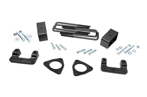 ROUGH COUNTRY 2.5-INCH SUSPENSION LEVELING LIFT KIT | 2007-2018 GMC/CHEVY 1500 4WD/2WD