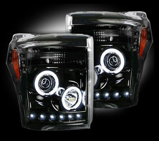 RECON PROJECTOR HEADLIGHTS (SET) | 2011-2016 FORD SUPERDUTY