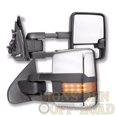 New Style CHEVY/GMC Tow Mirrors - Years 1988-2018