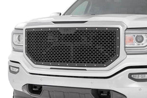 ROUGH COUNTRY MESH GRILLE | 2016-2018 GMC SIERRA 1500