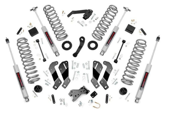 3.5IN JEEP SUSPENSION LIFT KIT CONTROL ARM DROP | 2007-2018 JEEP WRANGLER JK 4-DOOR