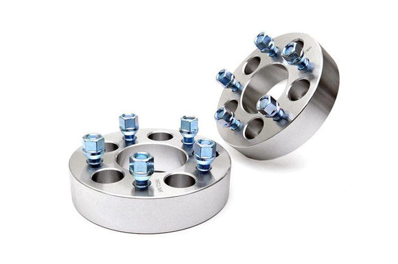 ROUGH COUNTRY 1.5-INCH WHEEL SPACER PAIR (5-BY-4.5-INCH BOLT PATTERN)