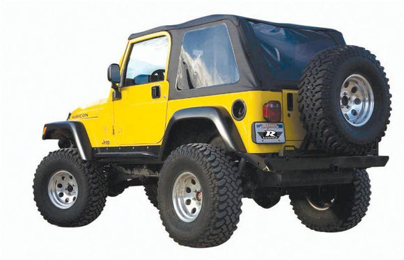 RAMPAGE FRAME-LESS SOFT TOP | 1997-2006 JEEP WRANGLER TJ