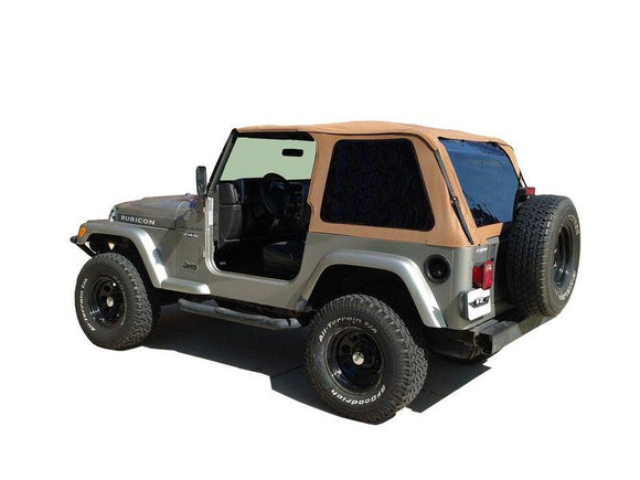 RAMPAGE FRAME-LESS TRAIL SOFT TOP | 1997-2006 JEEP WRANGLER TJ