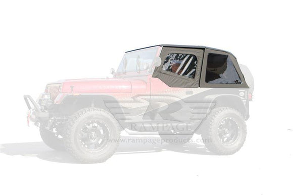 RAMPAGE FRAME-LESS TRAIL SOFT TOP | 1992-1995 JEEP WRANGLER YJ
