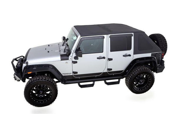 RAMPAGE FRAME-LESS SOFT TOP | 2007-2018 JEEP WRANGLER JK 4-DOOR