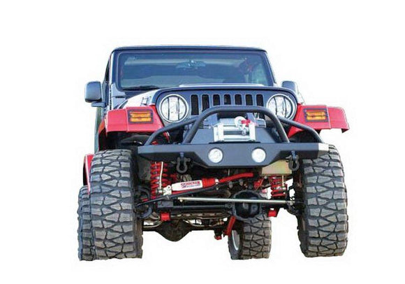 RAMPAGE FRONT RECOVERY BUMPER | 1997-2006 JEEP TJ