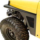 PARAMOUNT AUTOMOTIVE STEEL FRONT FENDER w/MESH INSERT | 1997-2006 JEEP TJ