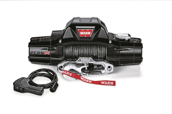 WARN ZEON 8-S SYNTHETIC ROPE WINCH