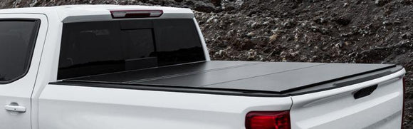 LOMAX HARD TRI-FOLD TONNEAU COVER | 2015+ CHEVY/GMC COLORADO/CANYON 5' BED