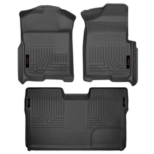 ENTHUZE FLOOR LINERS - FORD F-150 SUPERCREW 11-14