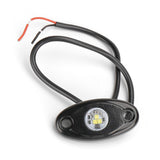 9W White Single Color LED Rock Lights