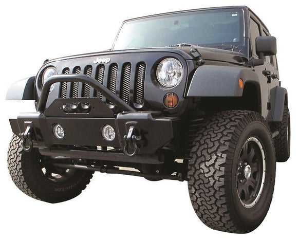 RAMPAGE FRONT RECOVERY BUMPER | 2007-2018 JEEP WRANGLER JK