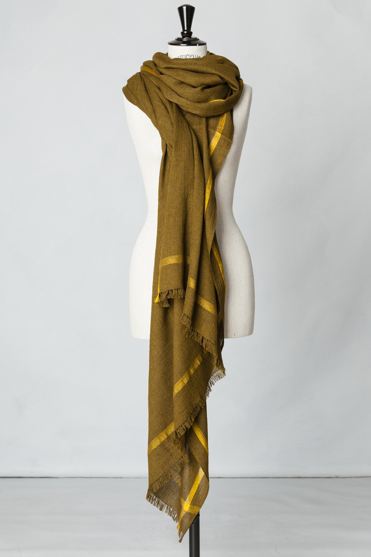 Yak/Silk Scarves by Haider Ackermann