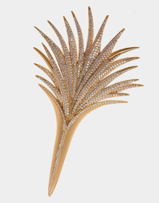 Palm Brooch