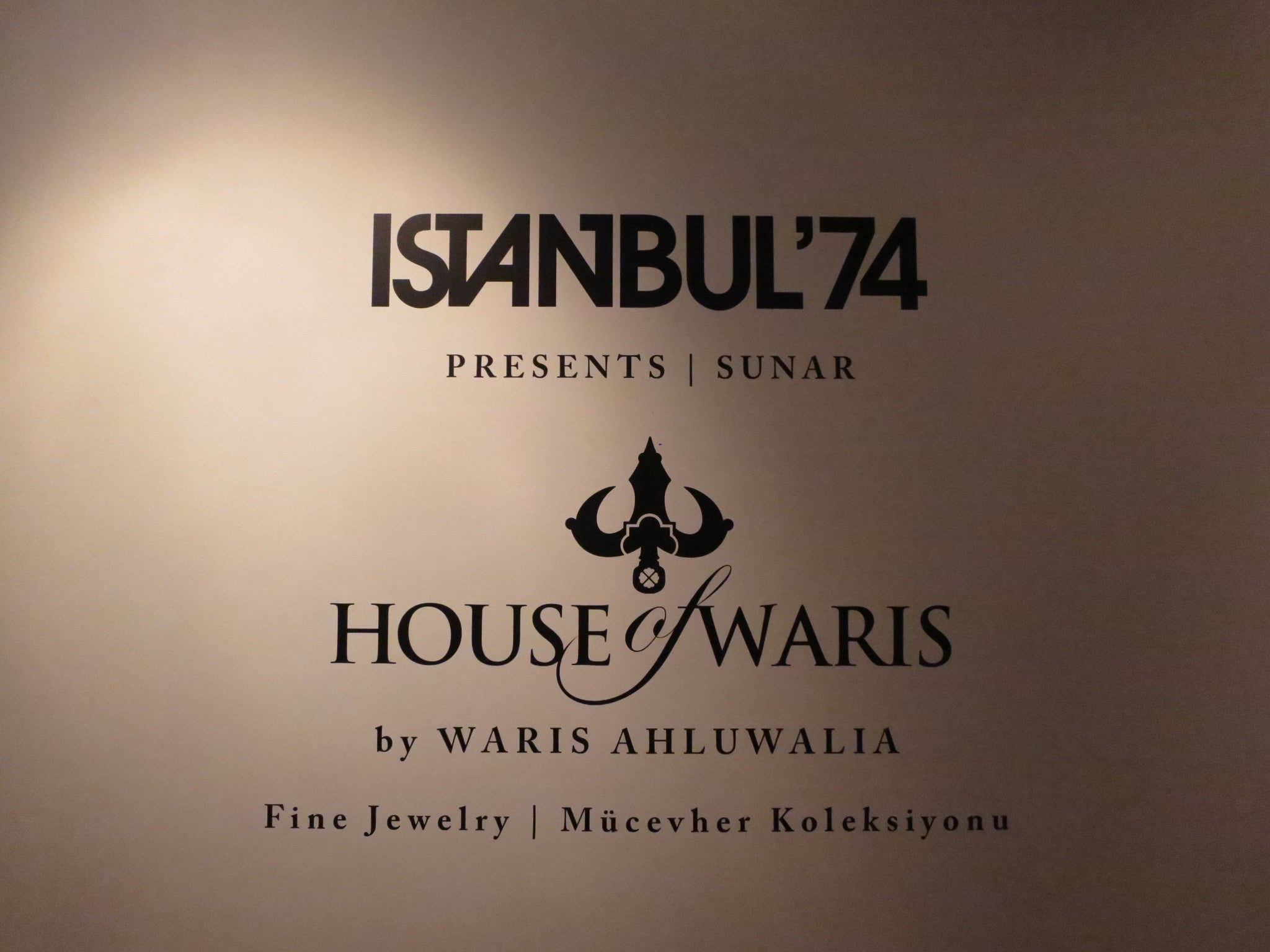 HOUSE of WARIS Exhibit at Istanbul 74