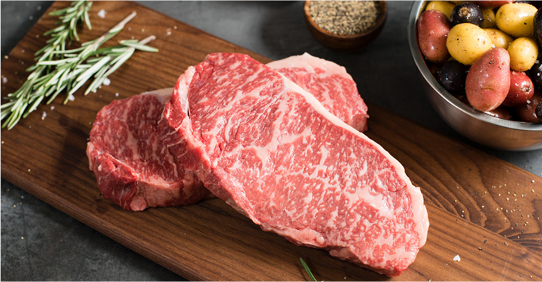 Load image into Gallery viewer, WAGYU NY CENTER CUT STRIP STEAK