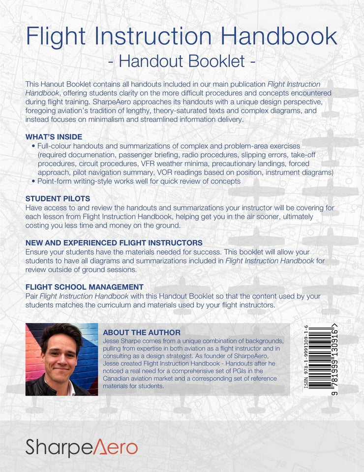 Flight Instruction Handbook - Handout Booklet