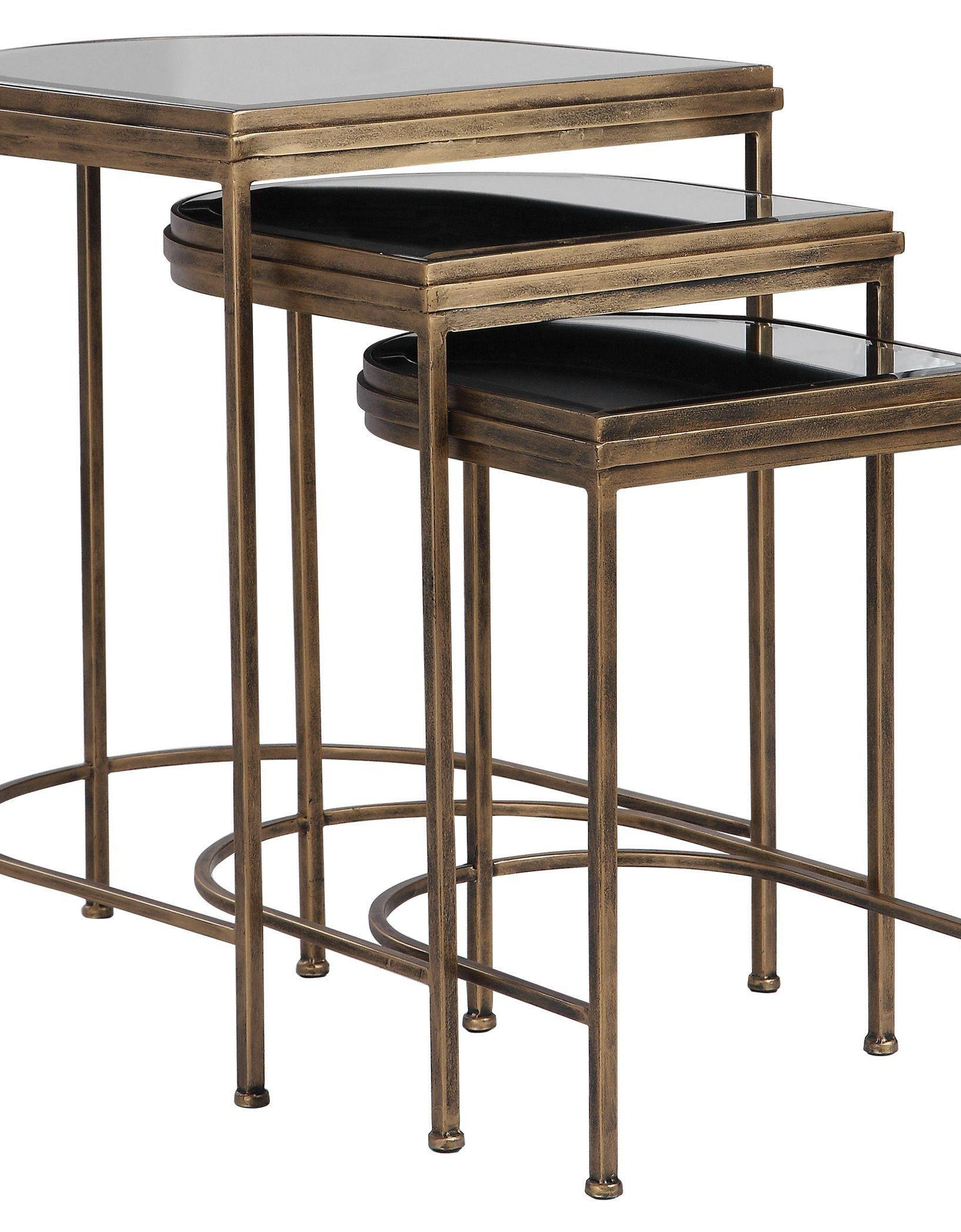 India Nesting Tables Set/3 (24908) - Mindy Brownes Interiors - Genesis Fine Arts