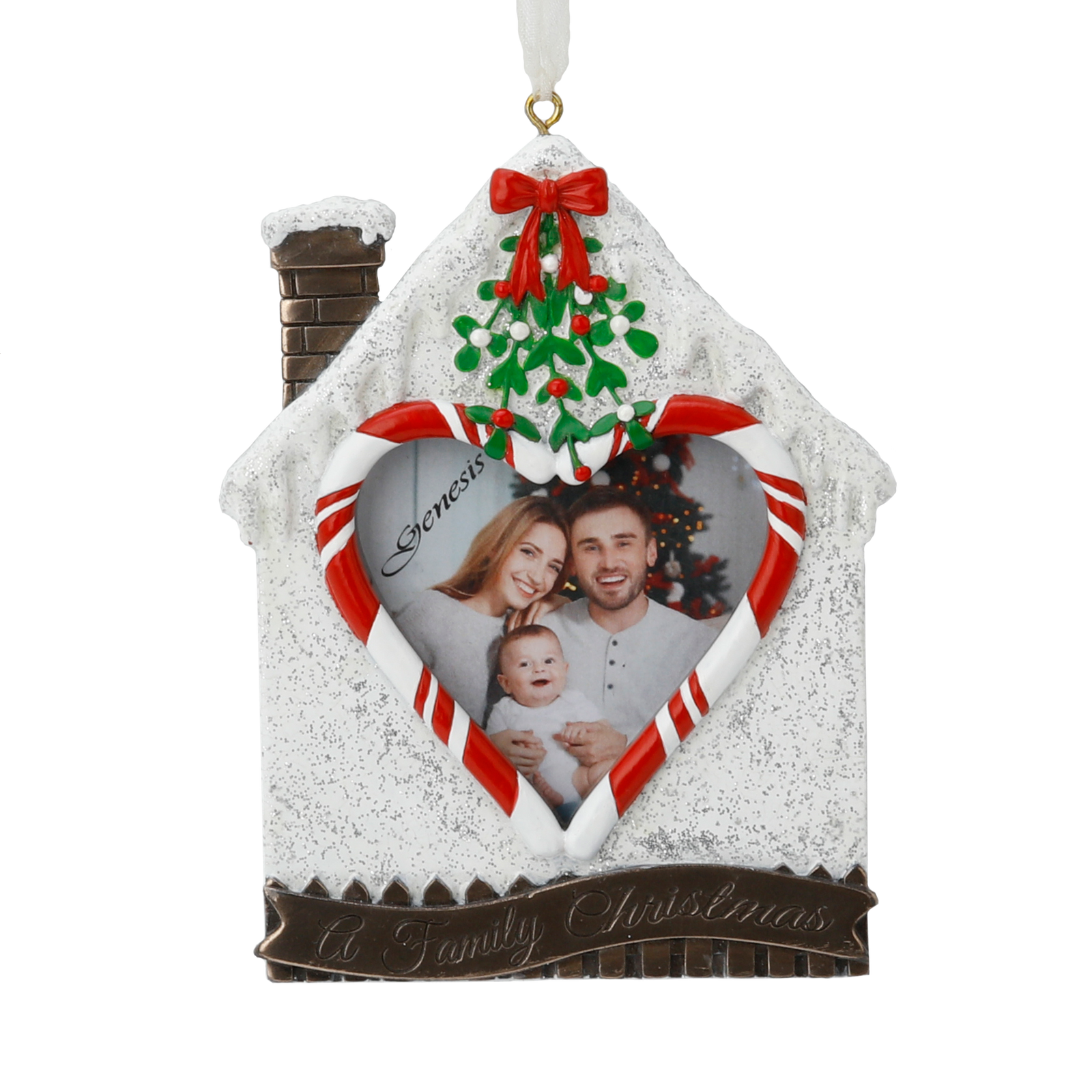 A Family Christmas Frame - TT016 - Mindy Brownes Interiors - Genesis Fine Arts