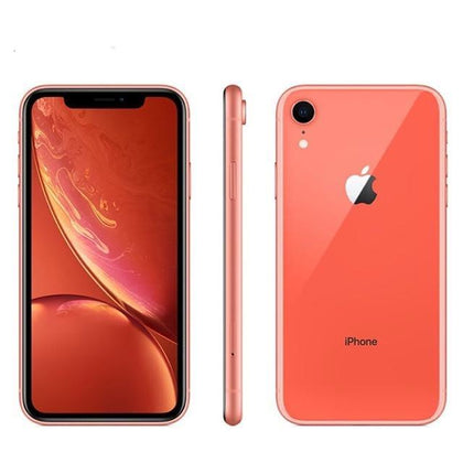 Unlocked Used Original Apple iPhone XR 64GB-coral