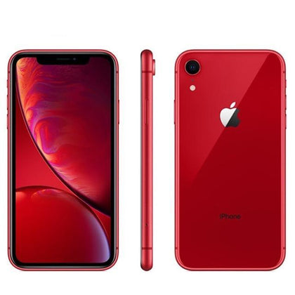 Unlocked Used Original Apple iPhone XR 64GB-red