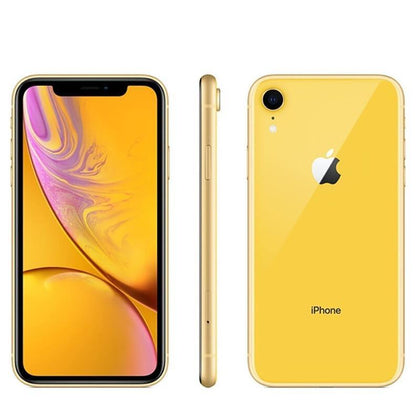 Unlocked Used Original Apple iPhone XR 64GB-yellow